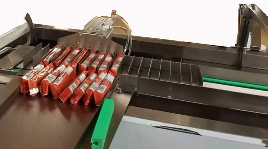 Magazine Type Automatic Tray Loading for SEcondary Packaging