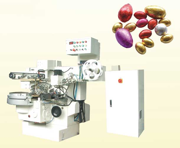 BALLEGG FOIL WRAPPING MACHINE