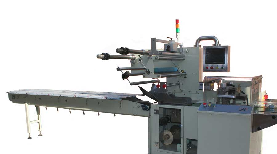 BOX MOTION HORIZONTAL PACKING MACHINE