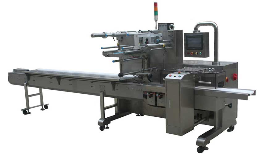 THREE SERVO CONTROL HORIZONTAL PACKING MACHINE 450Series