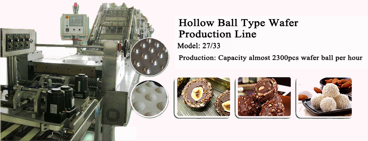 Hollow Ball Type Wafer Production Line